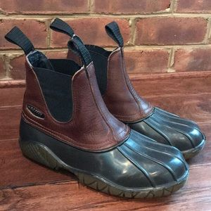 Baffin Technology Leather & Rubber Duck Boots